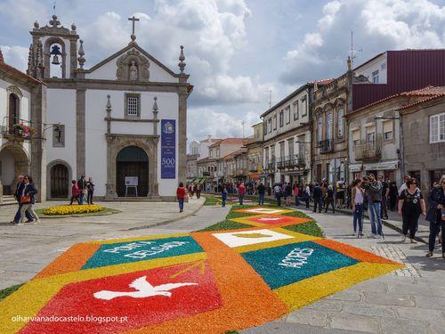 Tapetes de flores, Caminha (2)