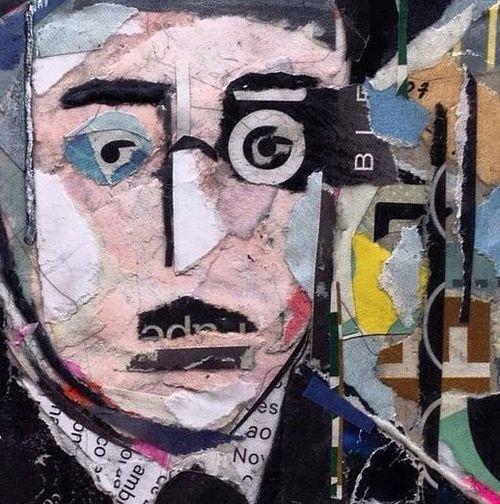 Fernando pessoa collage 2