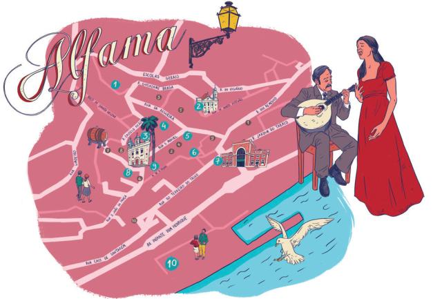 Alfama_fado_map